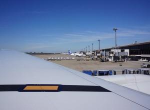 イタリアへのフライト