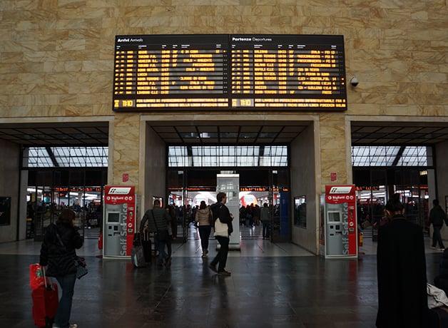 フィレンツェSMN駅