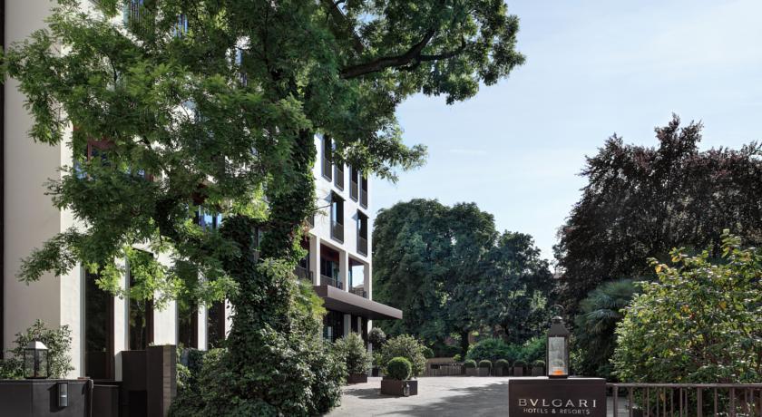 ブルガリ・ホテルズ&リゾーツ・ミラノ 外観