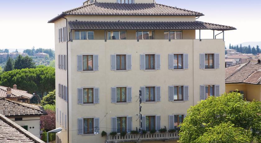 シエナのホテル、イタリア(外観)